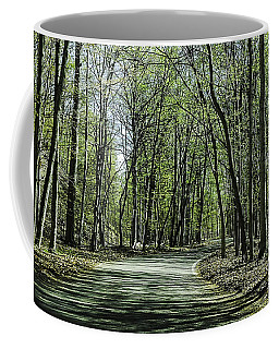 M119 Tunnel Of Trees Michigan Coffee Mug