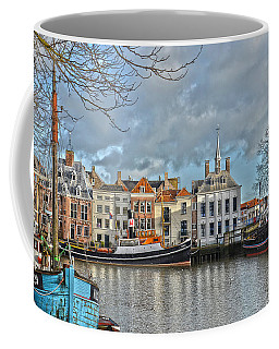 Maassluis Harbour Coffee Mug