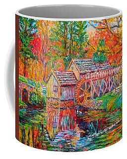 Mabry Mill In Fall Coffee Mug