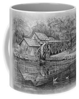 Mabry Mill Pencil Drawing Coffee Mug