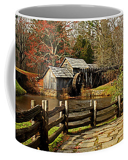 Coffee Mug featuring the photograph Mabry Mill by Suzanne Stout