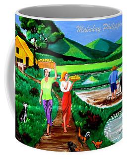 Mabuhay Philippines Coffee Mug by Lorna Maza