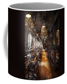 Machinist - Welcome To The Workshop Coffee Mug