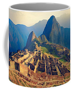 Machu Picchu Late Afternoon Sunset Coffee Mug