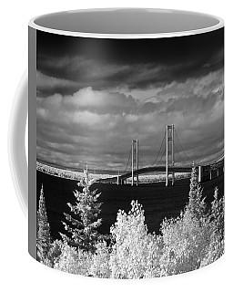 Macinac Bridge - Infrared Coffee Mug