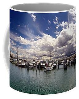 Mackinaw City Marina Coffee Mug