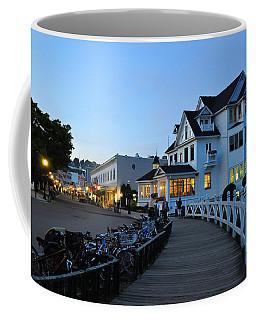 Mackinac Island At Dusk Coffee Mug