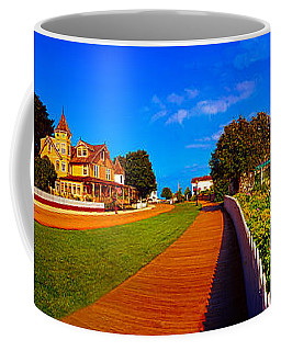 Mackinac Island Flower Garden  Coffee Mug