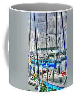 Mackinac Island Harbor Coffee Mug