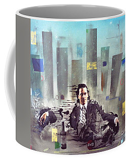 Mad Men Disintegration Of Don Draper Coffee Mug