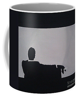 Mad Men In Silhouette Coffee Mug