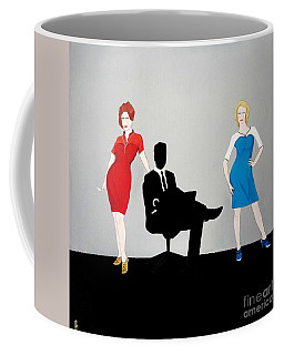 Mad Men In Technicolor Coffee Mug