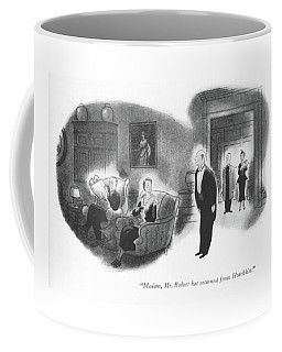 Madam, Mr. Robert Has Returned From Hotchkiss Coffee Mug