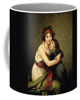 Madame Vigee-lebrun And Her Daughter, Jeanne-lucie-louise 1780-1819 1789 Oil On Canvas Coffee Mug