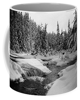 Coffee Mug featuring the photograph Madawaska River by David Porteus