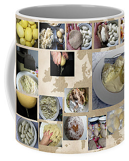 Coffee Mug featuring the photograph Made In Lithuania... Cepelinai- Potato Dumplings by Ausra Huntington nee Paulauskaite