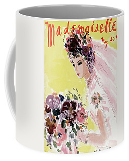 Mademoiselle Cover Featuring A Bride Coffee Mug