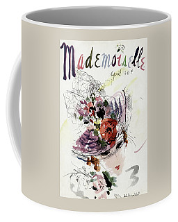 Mademoiselle Cover Featuring An Illustration Coffee Mug