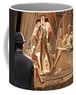 Madison Ave Meets Rodeo Drive Coffee Mug