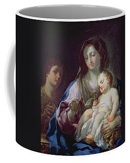 Madonna And Child With St. John Coffee Mug