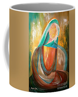Coffee Mug featuring the photograph Madonna By Cecilia Orta by The Art of Alice Terrill