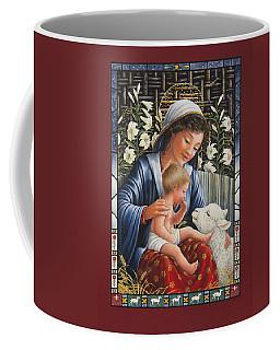 Madonna Of The Lilies Coffee Mug