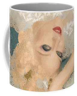 Coffee Mug featuring the painting Madonna Wow by Catherine Lott