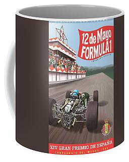 Madrid Grand Prix 1968 Coffee Mug