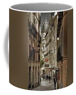 Madrid Streets Coffee Mug by Joan Carroll