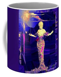 Mae West. Ladies Embrace Your Curves Coffee Mug