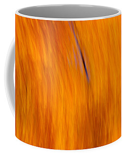 Coffee Mug featuring the photograph Maelstrom Of Fall Colors by Jeff Folger