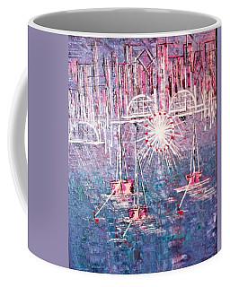 Belmont Turn Magenta Chicago Coffee Mug
