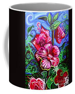 Magenta Fleur Symphonic Zoo I Coffee Mug