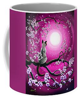 Magenta Morning Sakura Coffee Mug