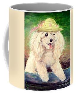 Maggie   Straw Hat Coffee Mug