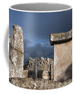 Bronze Edge In Minorca Called Talaiotic Age Unique At World - Magic Island 1 Coffee Mug by Pedro Cardona
