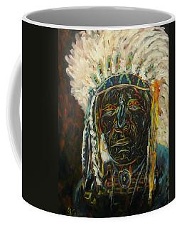 Magic Powers,  Native American Indian Chief Coffee Mug