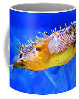 Magic Puffer - Fish Art By Sharon Cummings Coffee Mug