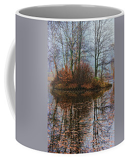Magic Reflection Coffee Mug by Mariola Bitner