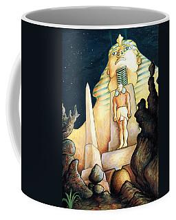 Magic Vegas Sphinx - Fantasy Art Painting Coffee Mug