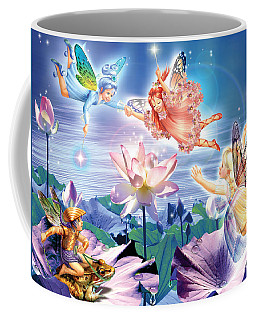 Magic Water Lily Coffee Mug