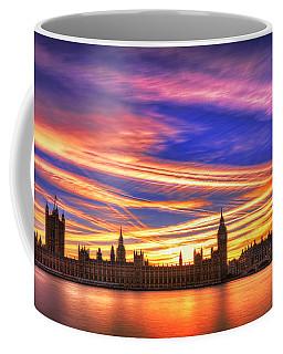 Magical London Coffee Mug by Midori Chan