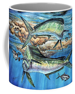 Magical Mahi Mahi Sargassum Coffee Mug