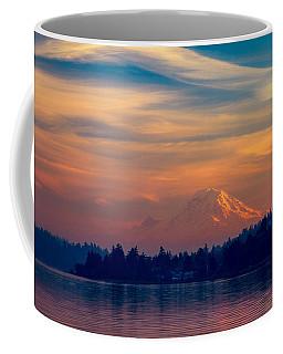 Magical Sunset At The Lake Coffee Mug