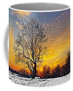 Magical Winter Sunset Coffee Mug