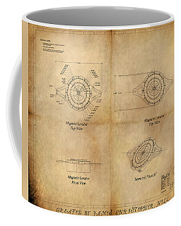 Magneto System Blueprint Coffee Mug