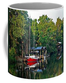Magnolia Red Boat Coffee Mug