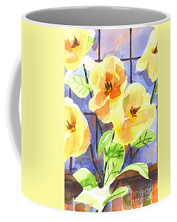 Coffee Mug featuring the painting Magnolias by Kip DeVore
