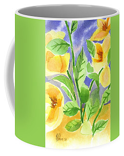 Coffee Mug featuring the painting Magnolia Magnificence  by Kip DeVore