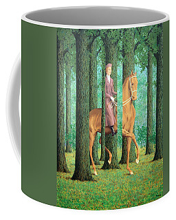 Magritte's The Blank Signature Coffee Mug by Cora Wandel